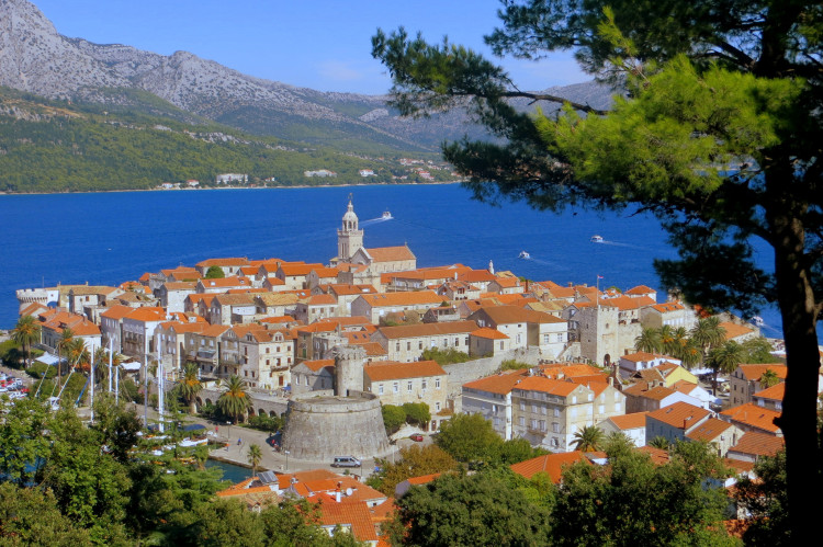 ostrov Korčula, Chorvátsko