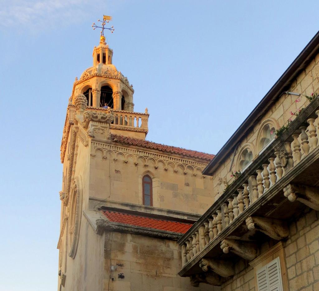 kostol, Korčula