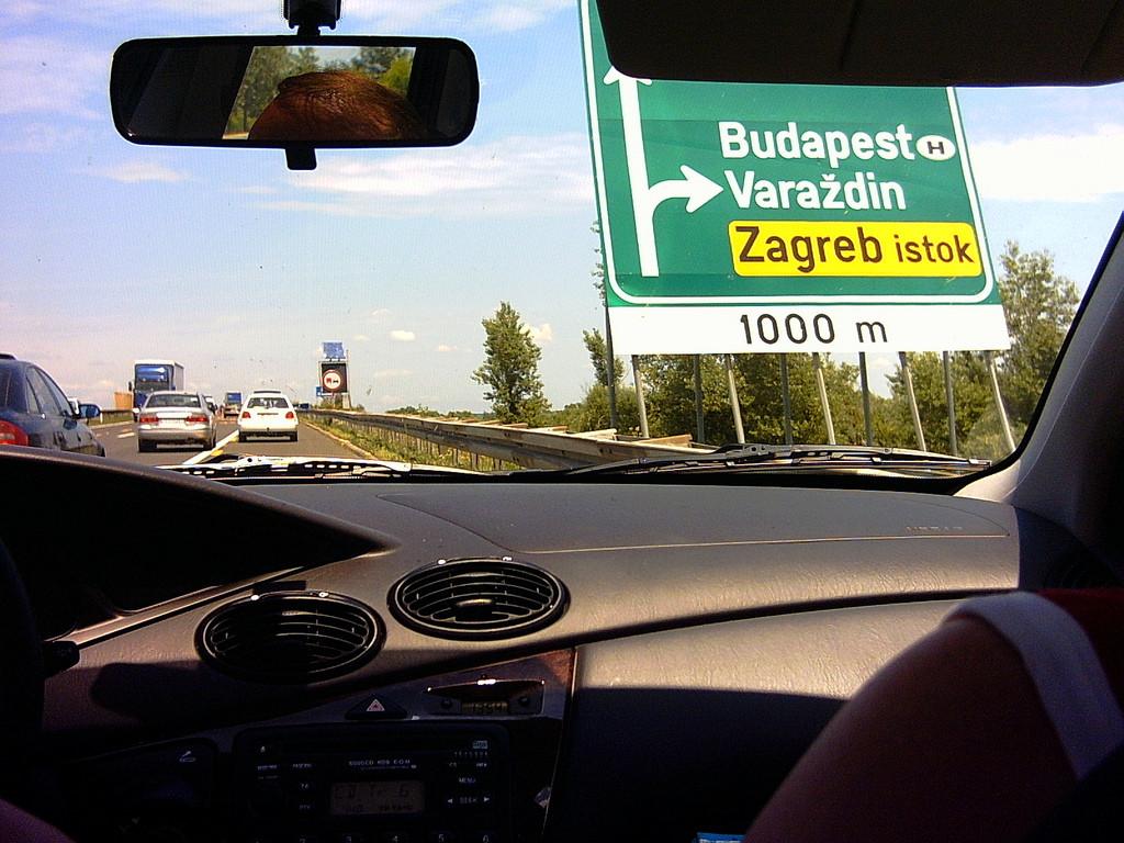cesta do Chorvátska