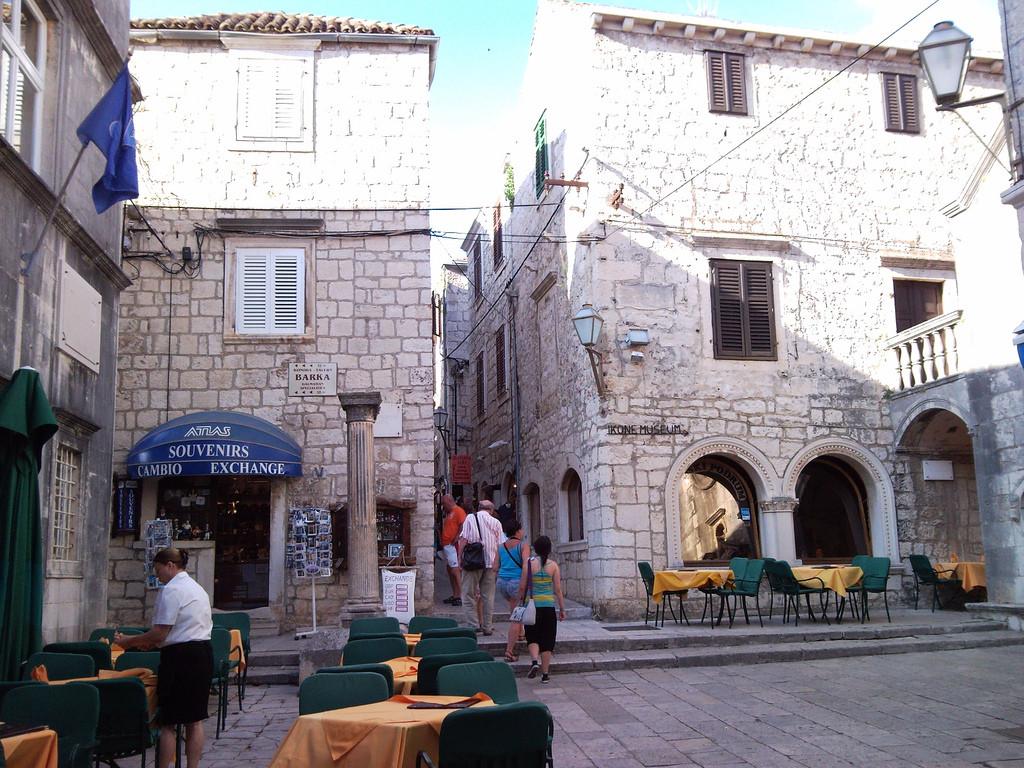 Korčula, centrum