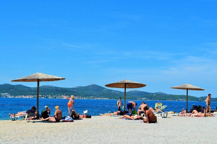 Pláž Kolovare, Zadar