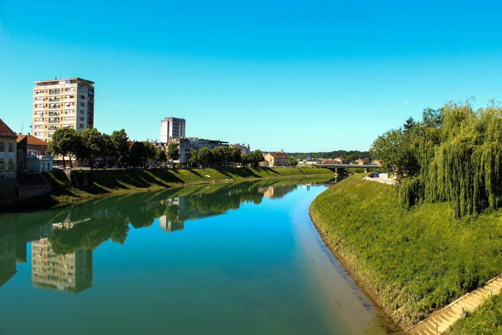 rieka, Karlovac, Chorvátsko