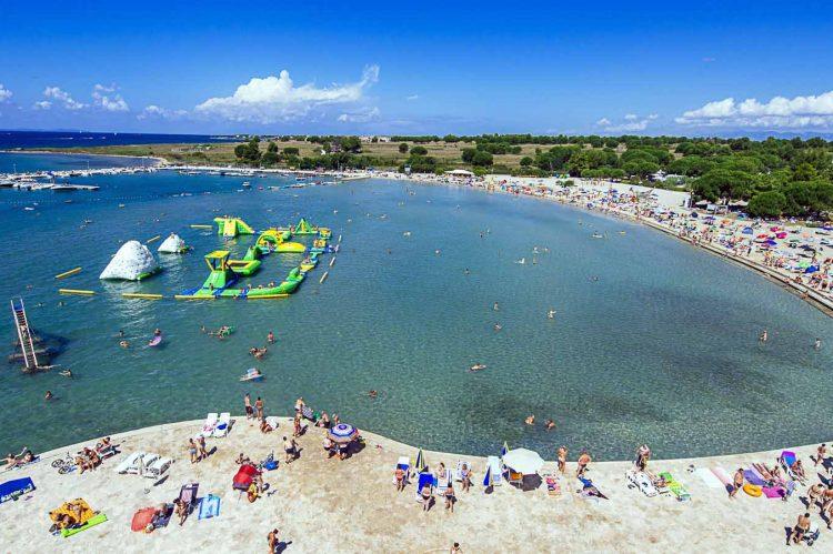 Pláž Zaton, Chorvátsko