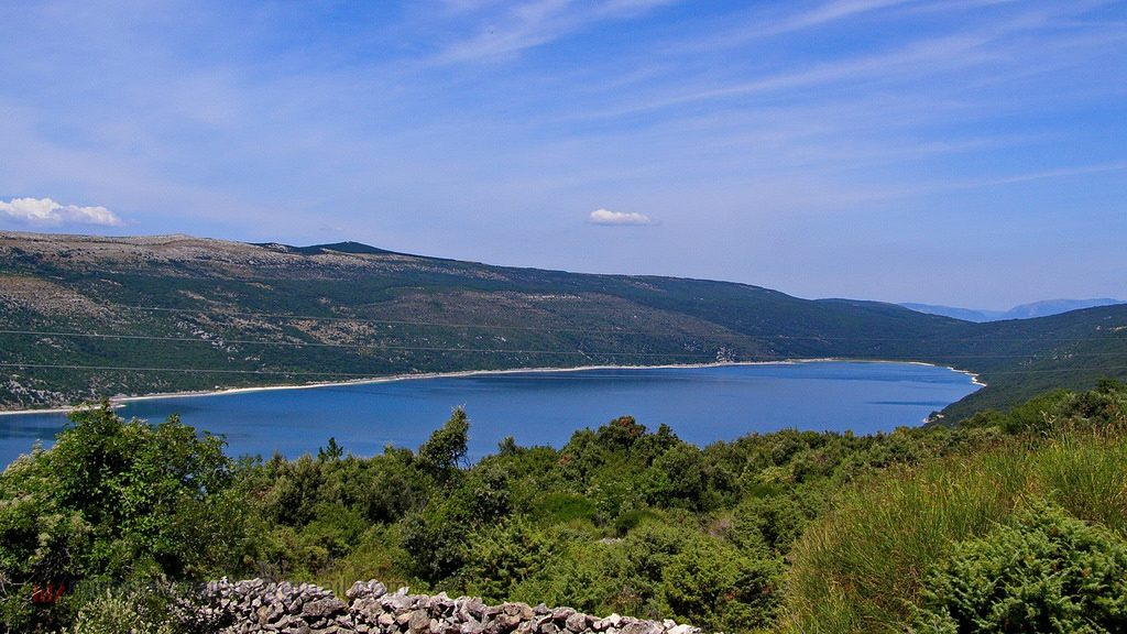 Vranské jazero, Cres