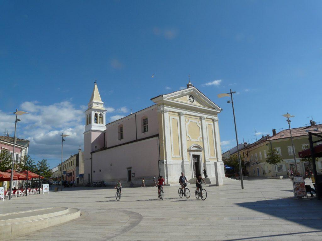 kostol v Poreči