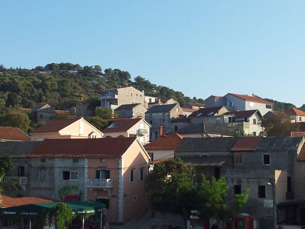 mesto Biograd na moru Chorvátsko