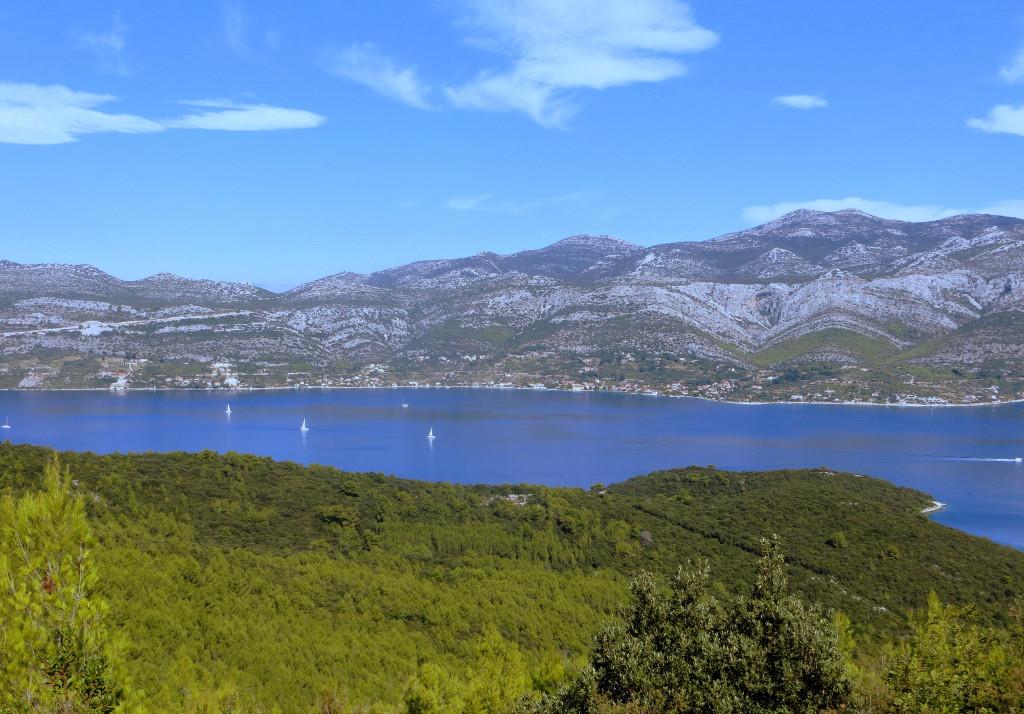 výhľad, Korčula