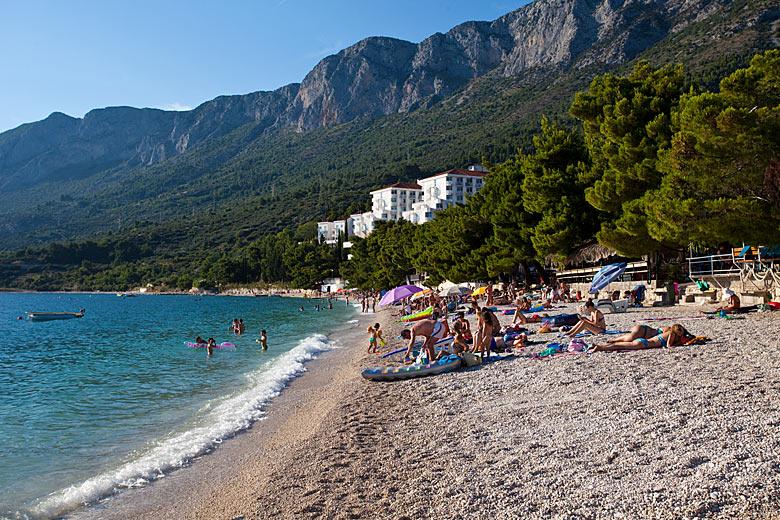 Pláž Gornja Vala, Gradac