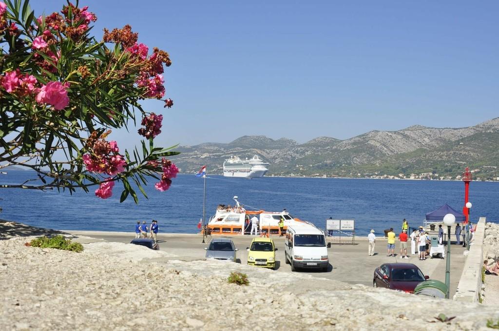 trajekt, Korčula