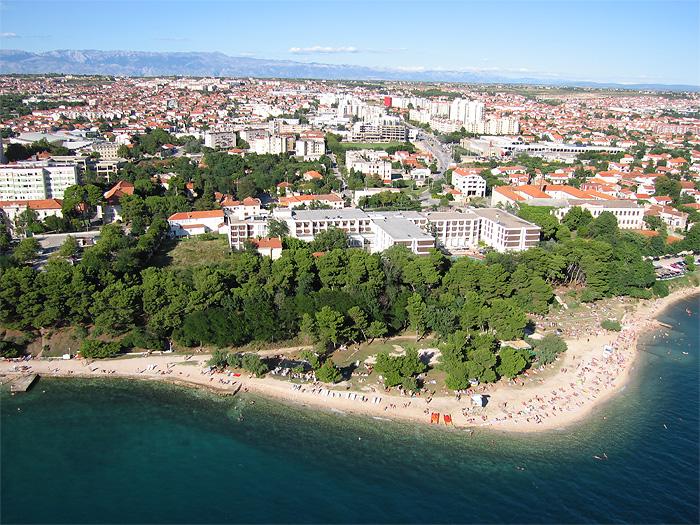 Kolovare pláž, Zadar