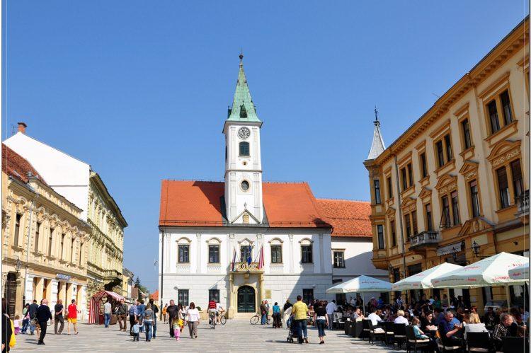 námestie - Varaždin, Chorvátsko