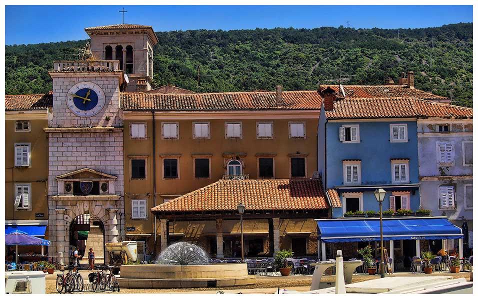 starobilé mesto Cres, Chorvátsko