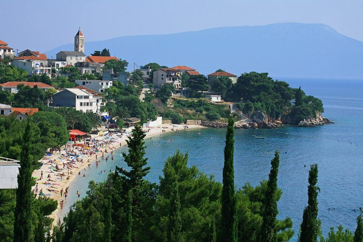 Gradac, Chorvátsko