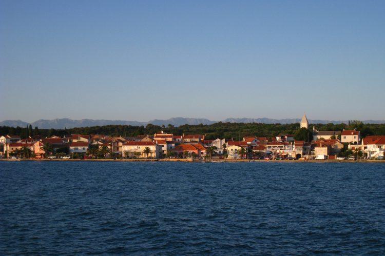 Pohľad na mesto - Petrčane, Chorvátsko