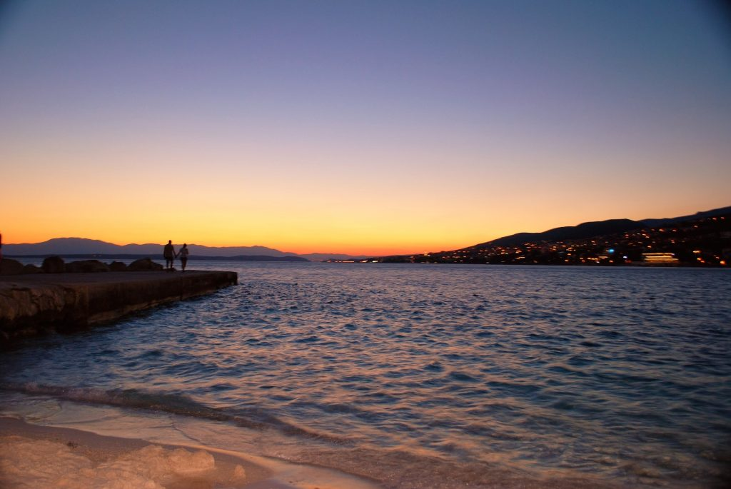 Romantický západ slnka - Selce