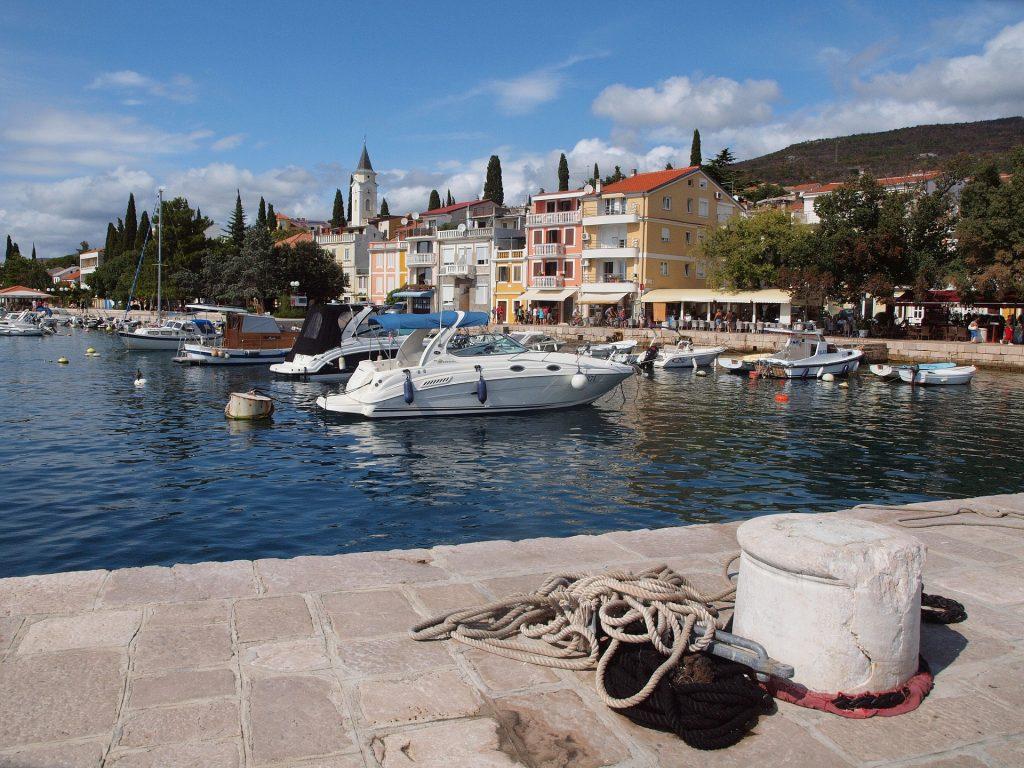 Prístav v Selce